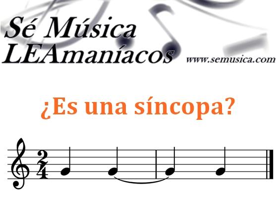 Síncopa - pregunta 1