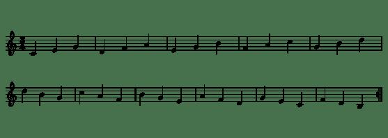 4.- Arpegios 1-1