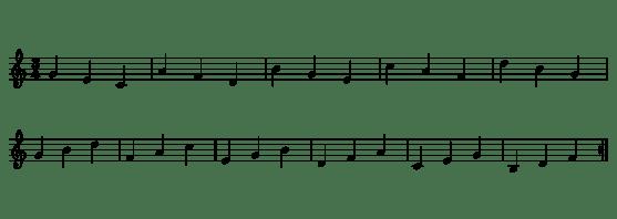 4.- Arpegios 2-1